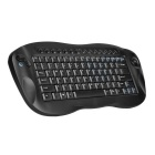 2.4GHz portátil Wireless Keyboard 81-Key com mouse trackball e receptor USB (2 x AA)