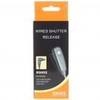 RS002 Wired Shutter Release for Canon 1D/1Ds/EOS 5D/50D/40D/30D/20D/10D (1M-Length)