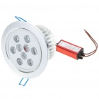 9W 720-750LM White LED Ceiling Lamp Light with LED Driver (100-240V)