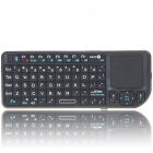 Handheld Rechargeable Bluetooth V2.0 2.4GHz Wireless Keyboard with TrackPad and Red Laser