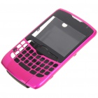 Replacement Plastic Housing Case for BlackBerry 8350 - Rose Red