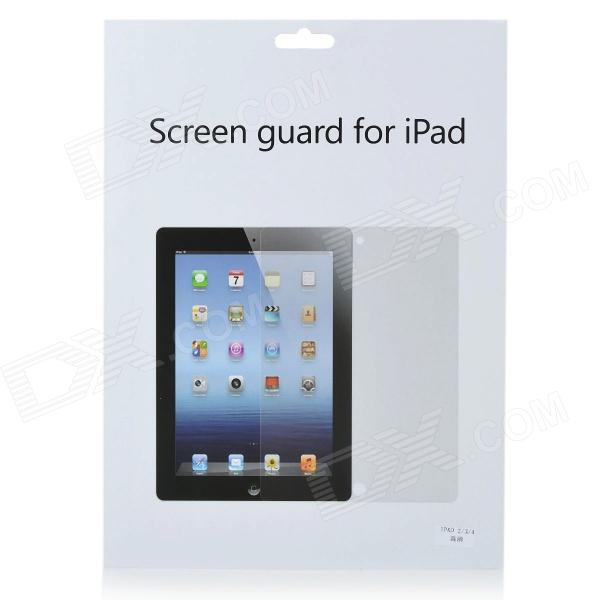 Screen Guard Film Protector with Cleaning Cloth for Ipad 2 - Transparent