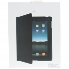 Ultra-slim Protective PU Leather Case for Apple iPad 2 - Black