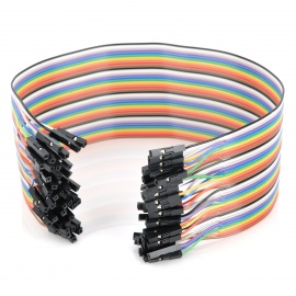 30cm Breadboard Wires for Electronic DIY (40PCS)