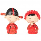 Valentinstag-Geschenk - Resin Chinese Style Cute Wedding Couple