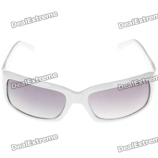 Resin Sunglasses with UV400 UV Protection fashion uv400 uv protection resin lens sunglasses with pouch