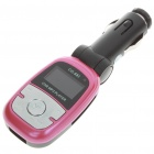 """1.1"""" LCD Car MP3 Player FM Transmitter with IR Remote Controller (SD/TF/USB/DC 12V)"""