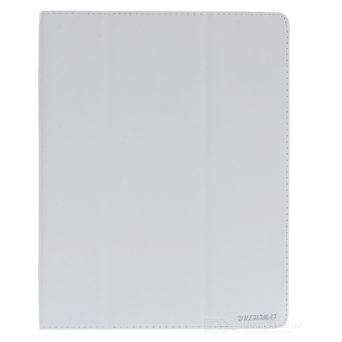 Protective PU Leather Case for Apple iPad 2 - White