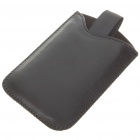 Protective Leather Case for Samsung I9000/I9020 - Black