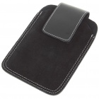 Protective Leather Case with Belt Clip for HTC Desire HD/HD2