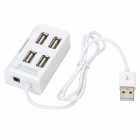 High Speed USB 2.0 4-Port Hub - White