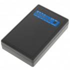 5200mAh Emergency Mobile Power Rechargeable Battery Pack with Cell Phone Adapters - Black