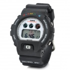 Sporty Multi-Function LED Digital Wrist Watch - Black (1 x CR2016)