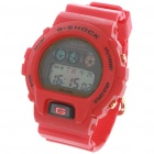 Sporty Multi-Function LED Digital Wrist Watch - Red (1 x CR2016)