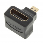 Gold Plated HDMI A-Type Female to HDMI D-Type Male Vertical Adapter/Converter