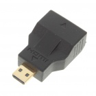 Gold Plated HDMI C-Type Female to HDMI D-Type Male Adapter/Converter