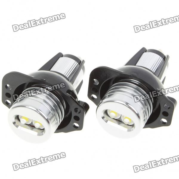 6W Angel Eyes White Light Bulb For 128I/135I//M3/M6/E60~90 Series - Pair (8~30V)