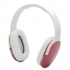 USB Rechargeable Wireless Headphone Sports MP3 Player with FM - Pink (TF Slot)