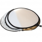 5-in-1 Collapsible Large Flash Reflector Board (60CM- Diameter)