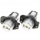 6W Angel Eyes Blue Light Bulb For BMW E92/E93/E70 - Pair (8~30V)