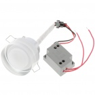 1W 90LM 6500K White LED Ceiling Lamp/Down Light with LED Driver (AC 85~245V)