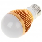 E27 3W 3-LED 260-Lumen 6500K White Light Bulb (AC 85~245V)