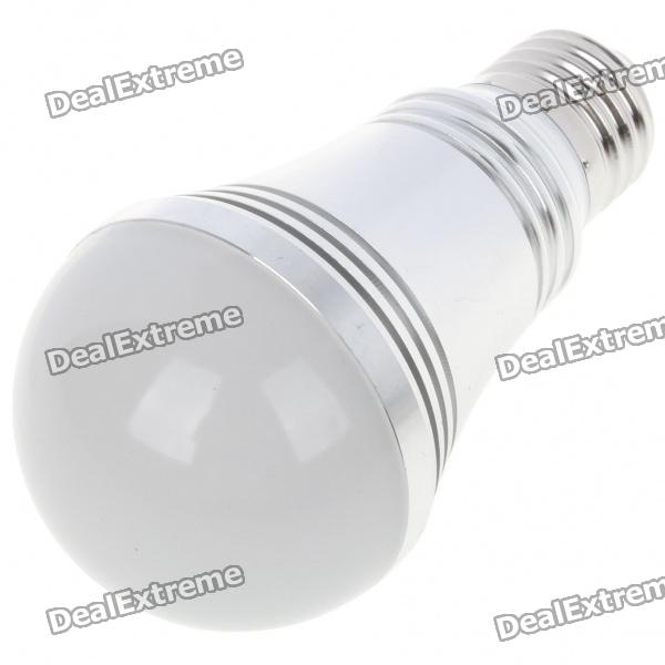 E27 5W 5-LED 430-Lumen 3500K Warm White Light Bulb (AC 85~245V)