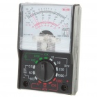 MF-110A Mini Handheld Multimeter - Black + White