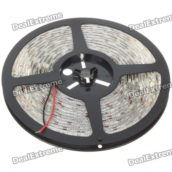 72W 6500K 300x5050 SMD LED White Light Flexible Strip with Power Switch (5-Meter/DC 12V) zdm waterproof 72w 200lm 470nm 300 smd 5050 led blue light strip white grey dc 12v 5m