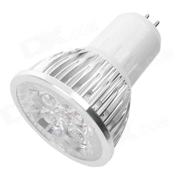 MR16 4W 280-Lumen 3500K Warm White Light 4-LED Cup Bulb (AC 85~265V)MR16<br>Material:MetalForm  ColorWhitePower1WConnector TypeMR16Emitter TypeLEDTotal Emitters:4PowerColor BINWarm WhitePacking List<br>