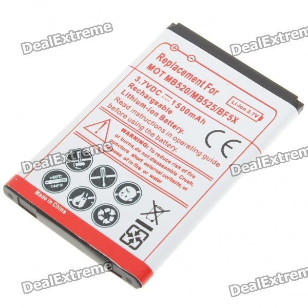 3.7V 1500mAh Rechargeable Battery for Moto MB520/BF5X