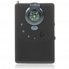 2-in-1 Anti-Spy Rechargeable RF Wireless Pinhole Bug Detector w/ Compass (1MHz~6.5GHz / 2 x AAA)