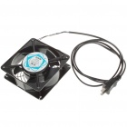 Super Speed 120mm Sleeve Bearing Fan with Terminals (AC 110~120V/US Plug)