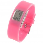Sporty LED Digital Wrist Watch - Cherry Red (1 x SR21SW)