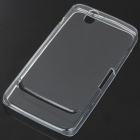 Protective Rubber Gel Silicone Back Case for Dell Streak Mini 5 - Translucent