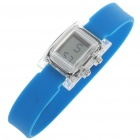 Ultra-Lite Water Resistant Ionizer Sporty LED Digital Wrist Watch - Blue (1 x SR21SW)