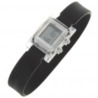 Ultra-Lite Water Resistant Ionizer Sporty LED Digital Wrist Watch - Black (1 x SR21SW)