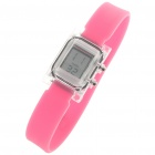 Ultra-Lite Water Resistant Ionizer Sporty LED Digital Wrist Watch - Cherry Red (1 x SR21SW)