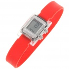 Ultra-Lite Water Resistant Ionizer Sporty LED Digital Wrist Watch - Red (1 x SR21SW)