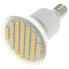 E14 4W 60x3528 SMD LED 240-Lumen 3500K Warm White Light Bulb (AC 85~265V)