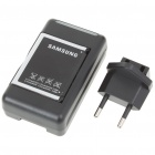 USB/AC Battery Charging Cradle + 1500mAh Battery + EU Adapter for Samsung i900