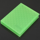 "Protective Hard PP Plastic Case for 2.5"" HDD - Green"