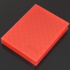"Protective Hard PP Plastic Case for 2.5"" HDD - Red"