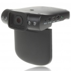 "5.0MP Wide Angle 720P Digital Car DVR Camcorder w/ Night Vision/SD/AV-Out (2.4"" TFT LCD)"