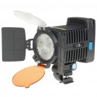 R-3 II 10W LED Camcorder DV Video Light with Filters