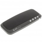 Portable MP3 Music Speaker with FM Radio/USB Host/SD/MMC/MS Slot - Black