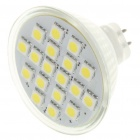 MR16 3W 18x5050 SMD LED White Light Ceiling Lamp Bulb (12V)