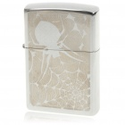 Genuine Zippo Copper Fuel Lighter - Spider Web