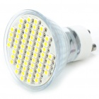 GU10 60x3528 SMD LED 3.5W 240-Lumen 3500K Warm White Light Bulb (AC 85 ~ 260V)