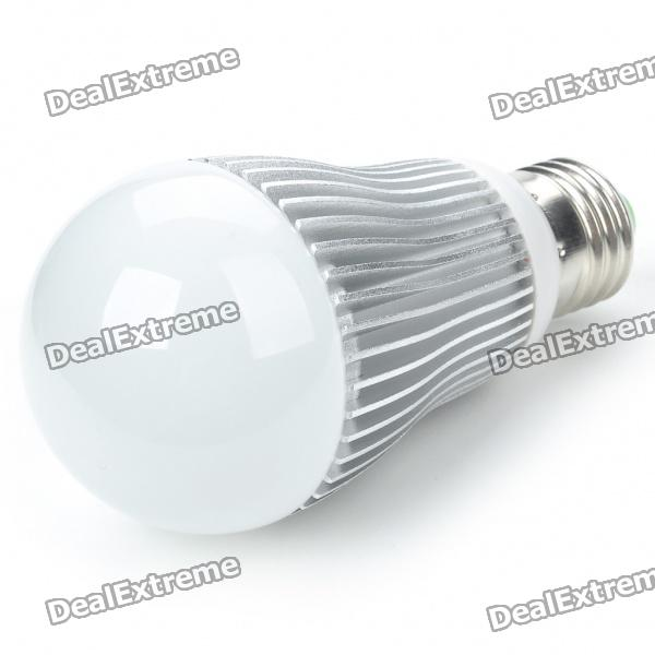 E27 6W 500-Lumen 7000K White LED Light Bulb (AC 85~265V) e27 9w 9 led 810 lumen 6000k white light bulb 85 265v ac